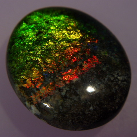 Treated Andamooka Matrix Opal